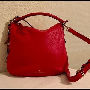 Red Kate Spade bag, like new!